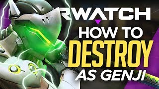 8 INSANE Genji Ability Combos to Destroy With - Overwatch Guide
