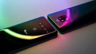 Huawei Mate 20 Pro vs LG V40: Triple Camera Battle!