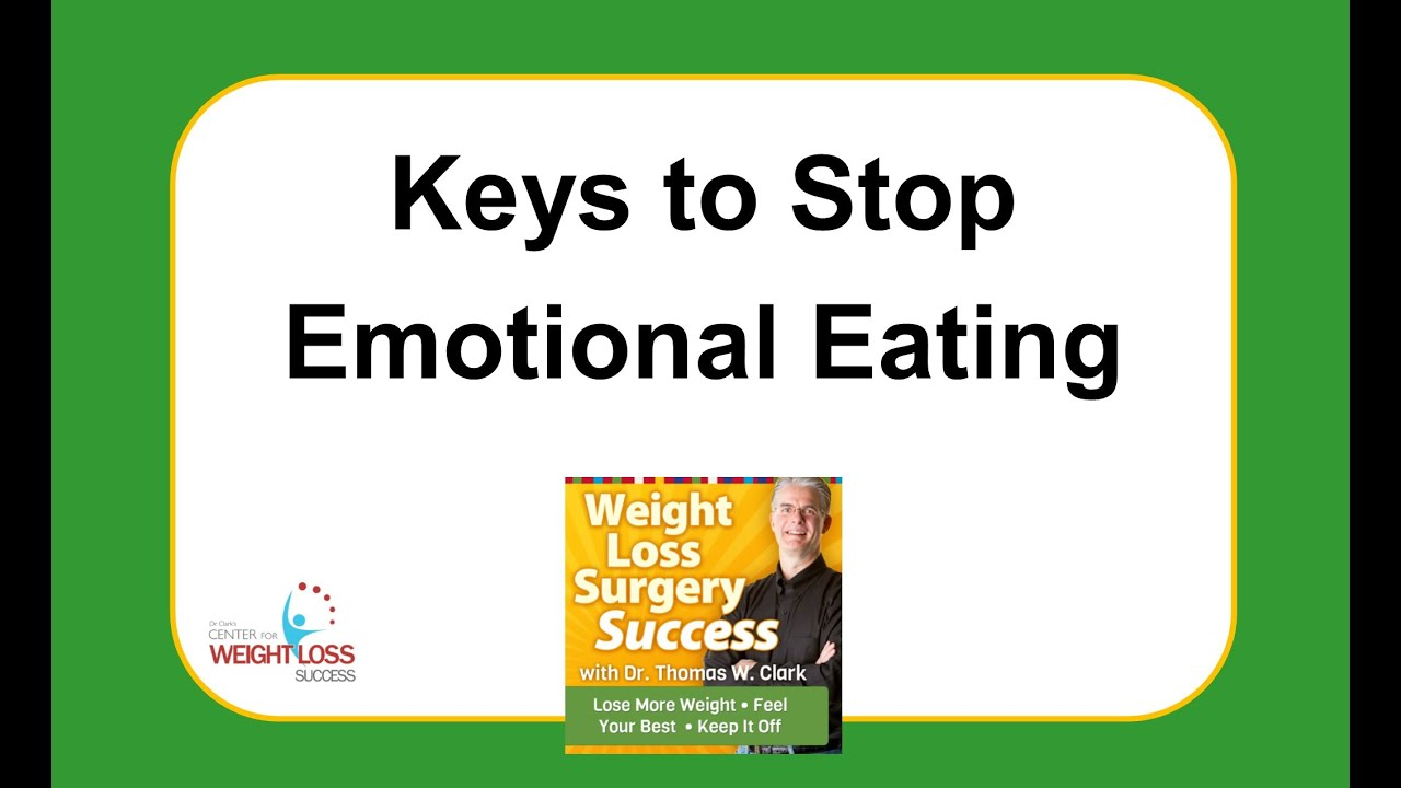 binge eating and weight loss surgery