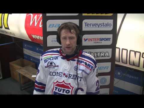 Kooste runkosarjan päätösottelusta JYP-Akatemia - TUTO Hockey 7.3.2015
