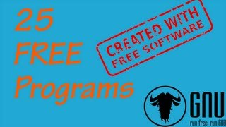 25 FREE PROGRAMS YOU SHOULD GET RIGHT NOW VideoMp4Mp3.Com
