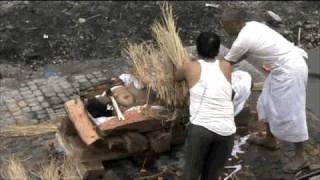 cremation temple, burning man