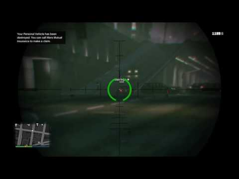 Grand Theft Auto V (daily clip #6) imposible shot