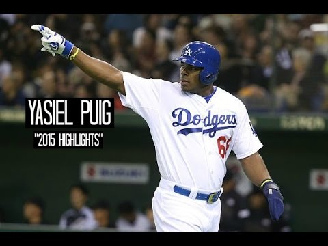 Yasiel Puig | 2015 Dodgers Highlights ᴴᴰ