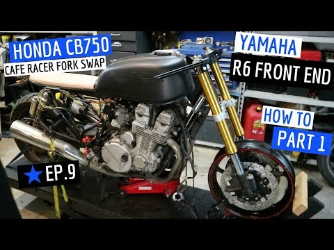 How to Fit an R6 Front End to A ★ Cafe Racer CB750 - Part 1 & Some Unboxing