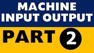 Machine Input Output Part 2 IBPS PO SBI Clerk SO LIC All Banking exams
