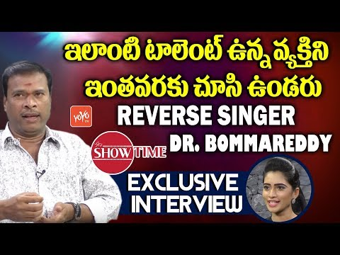 Dr Bommareddy Srinivas Reddy Exclusive Interview | Dr Bommareddy Shows | Show Time | YOYO TV Channel