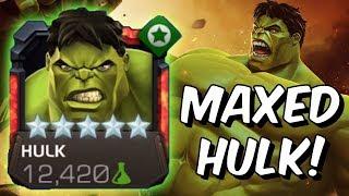 5 Star Rank 5 Hulk Gameplay /w She-Hulk & Asgard Synergies! - Marvel Contest of Champions