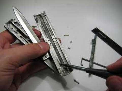 Tomb-Raider OTF Double Action Knife Kit Instructions