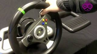 Madcatz Wireless Xbox 360 Steering Wheel Review - GamingZap