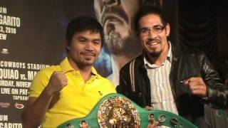 Manny Pacquiao faces Antonio Margarito for WBC Super Welterweight Title
