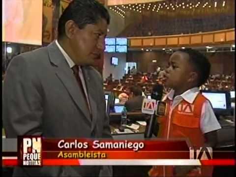 Pequeños Gigantes en la Asamblea Nacional del Ecuador