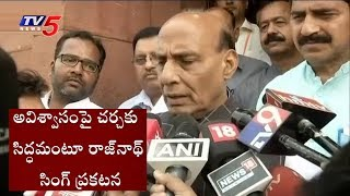 Rajnath Singh: BJP Ready For Discussion On No Confidence Motion In Parliament