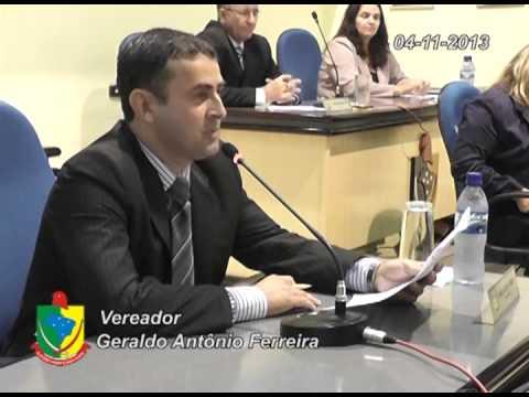 Geraldo Ant�nio Ferreira 04 11 2013