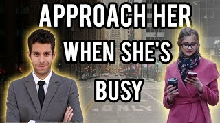 How To Talk To A Girl When She's Busy (Feat Tripp Advice)