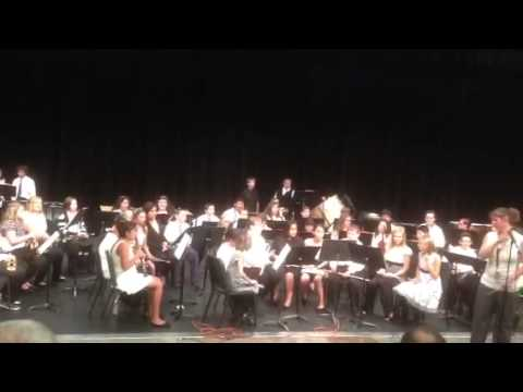 Armand Larive Middle School Sixth Grade Band Concert