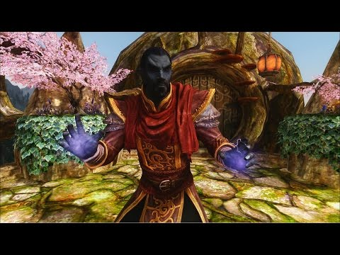 Skyrim Builds - The Telvanni Wizard