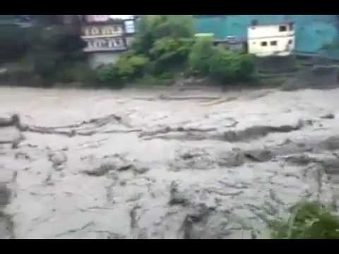 Floods in Uttarakhand June 2013 kill dozens, rescue efforts hit   Haridwar and rishikesh file photo