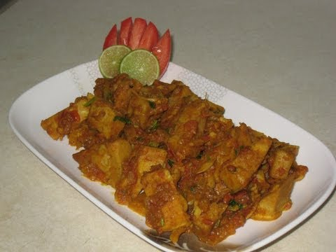 Young jackfruit / Kathal curry recipe