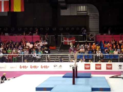 Julie CROCKET BEL, Beam Senior Qualification, European Gymnastics Championships 2012 (Partial)