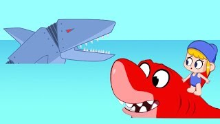 Morphle | The Robot Sharks | Animals for Kids | Learning for Kids | Kids Videos