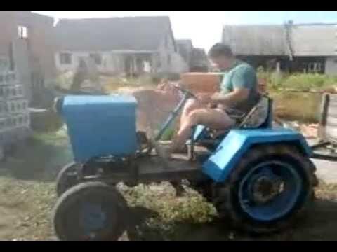 Ютуб сделай сам трактор