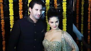 Sunny Leone With Husband At Ekta Kapoor's DIWALI Party 2016