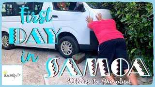 FIRST DAY IN SAMOA! | JAMily TV | Welcome To Paradise | Episode 16