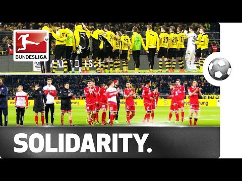 Shocked Reactions After Fan Passes Away in Dortmund
