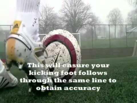 Видео как правильно бить мяч