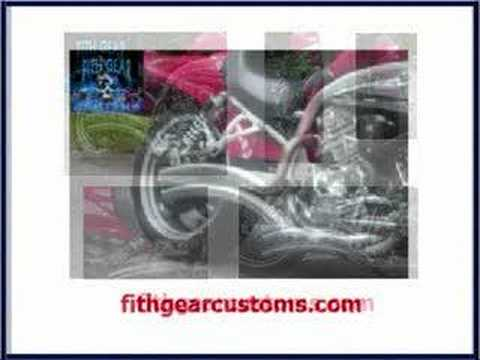Fith Gear Customs - Exhaust Sytems For Hyosung & U.M.