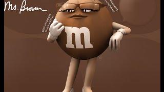M&M's Américain Miss Brown Super Bowl