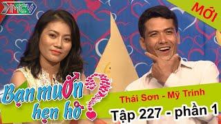 Cuốn hút khi mẹ cùng con gái khiêu vũ trên sân khấu hẹn hò | Thái Sơn - Mỹ Trinh | BMHH 227 😍