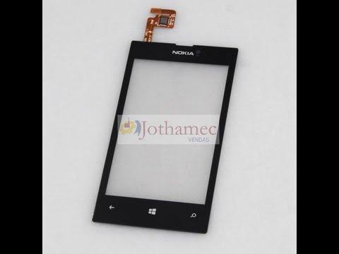 Tutorial de como trocar só o vidro do Nokia Lumia 520