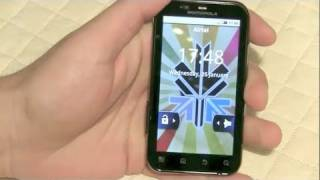 Motorola Defy Review, water, scratch test, dust proof