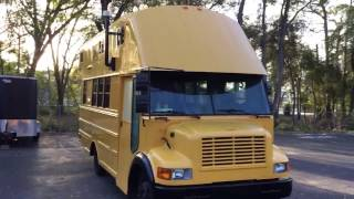 My first bus conversion video