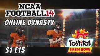 NCAA Football 14 : Online Dynasty : Oklahoma State : S1E15 : Tostitos Fiesta Bowl