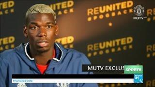 Football : Paul Pogba est arrivé à Manchester United !