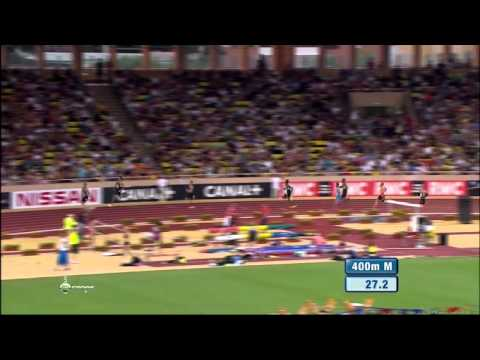 Jonathan BORLÉE 44.74 - 400m Diamond League 2012 Monaco - MIR-La.com