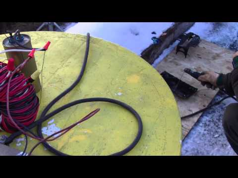 Homemade Arc Welder from Motor 120v AC/DC