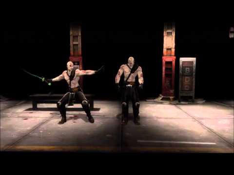 Mortal Kombat 9 Quan Chi Fatality 1, 2, Stage, and Babality (HD)