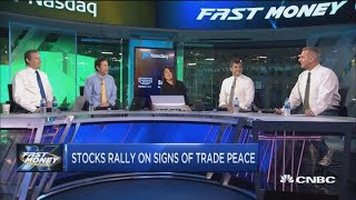 Stocks are soaring on signs of a trade deal brewing, but can you trust the hype?