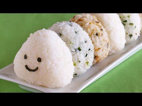 How to Make Onigiri (Japanese Rice Balls) おにぎりの作り方 - OCHIKERON - CREATE EAT HAPPY