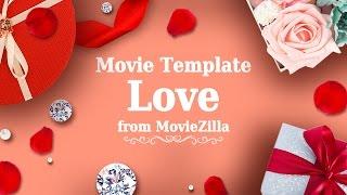 Movie Template Love | Template Store 2017