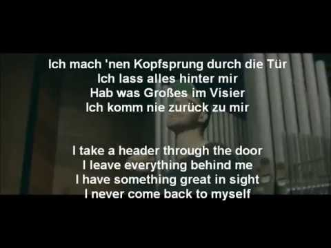 Mark Forster - Au Revoir Ft. Sido Lyrics + English