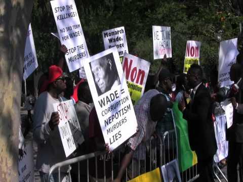 Dime Productions.net - Demonstration de Force de Y'EN A MARRE et  du M23 a New York: Deuxieme Partie