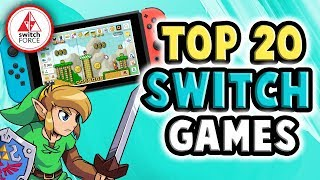 The TOP 20 New Switch Games Released in 2019... So Far!