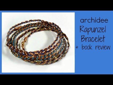 Tutorial   Tecnica Wire   DIY Rapunzel Bracelet   Book Review   Bead & Wire Art Jewelry