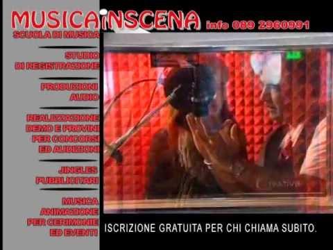 SPOT MUSICAINSCENA SCUOLA DI MUSICA STUDIO DI REGISTRAZIONE SALERNO