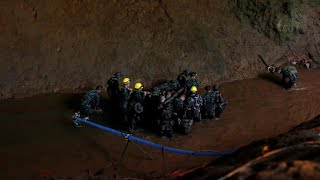 12 boys and coach safely pulled from Thailand cave